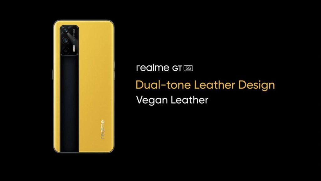 design realme gt 5G