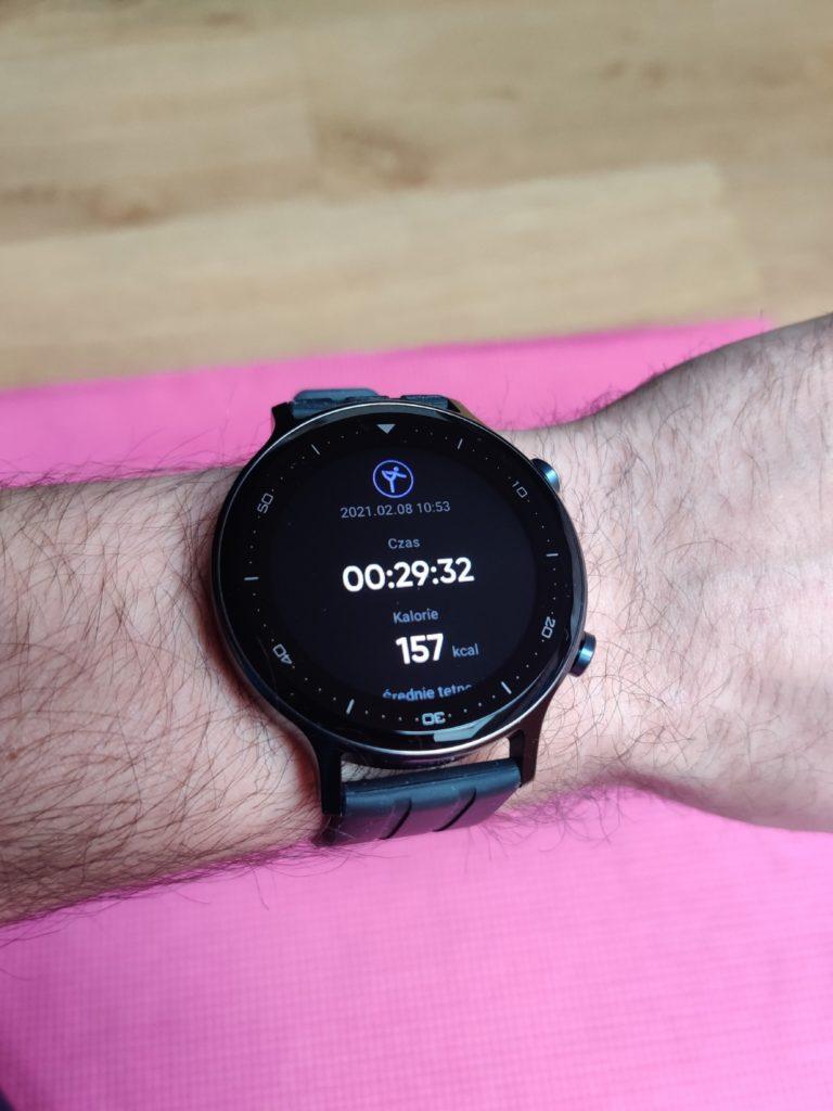 realme Watch S podsumowanie aktywności