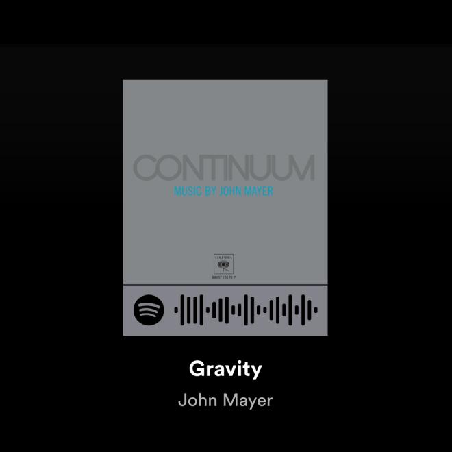 John Mayer Gravity