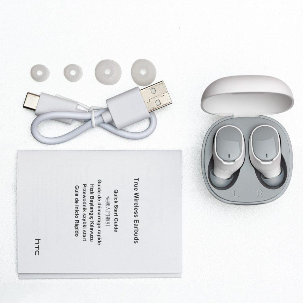 Unboxing słuchawek htc wireless earbuds