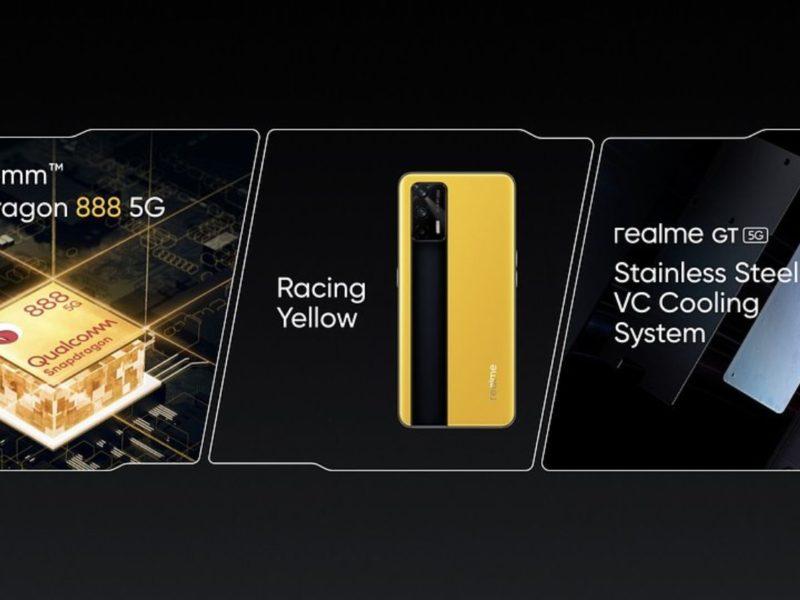 Co ma smartfon do samochodu sportowego? Premiera realme GT 5G