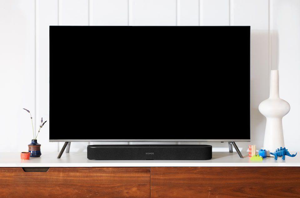 sonos beam przy telewizorze