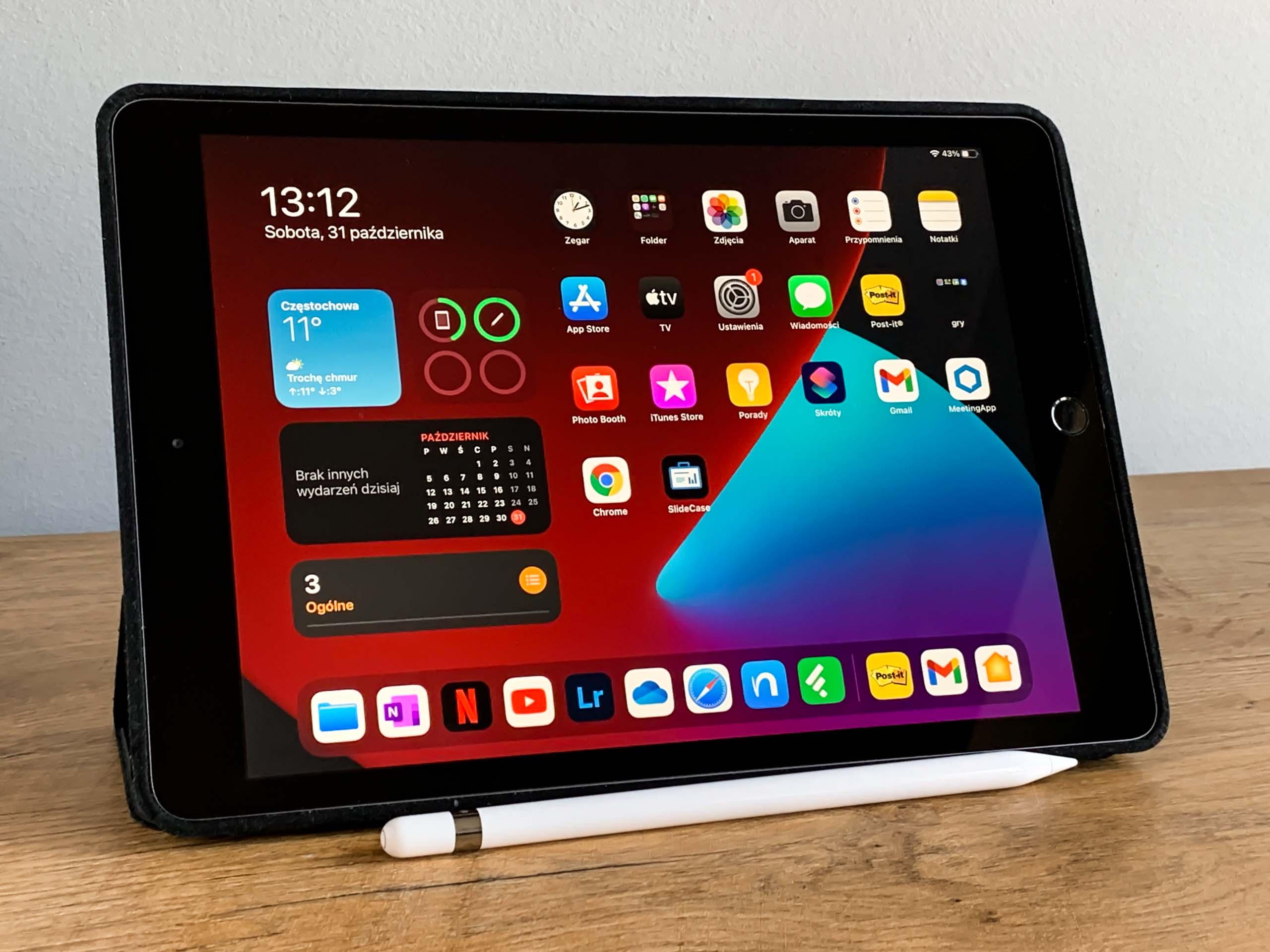 apple ipad 8 generacji tablet