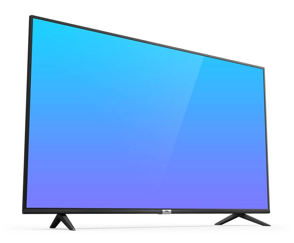 tcl 50p610 - telewizor przedstawiony z przodu