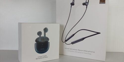 Słuchawki vivo TWS Neo i vivo Wireless Sport - test i recenzja