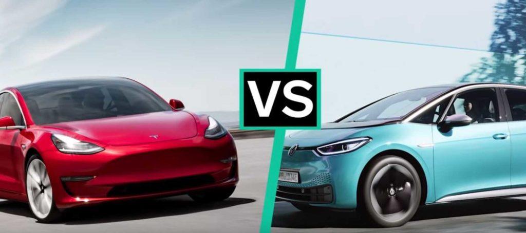 Volkswagen kontra Tesla