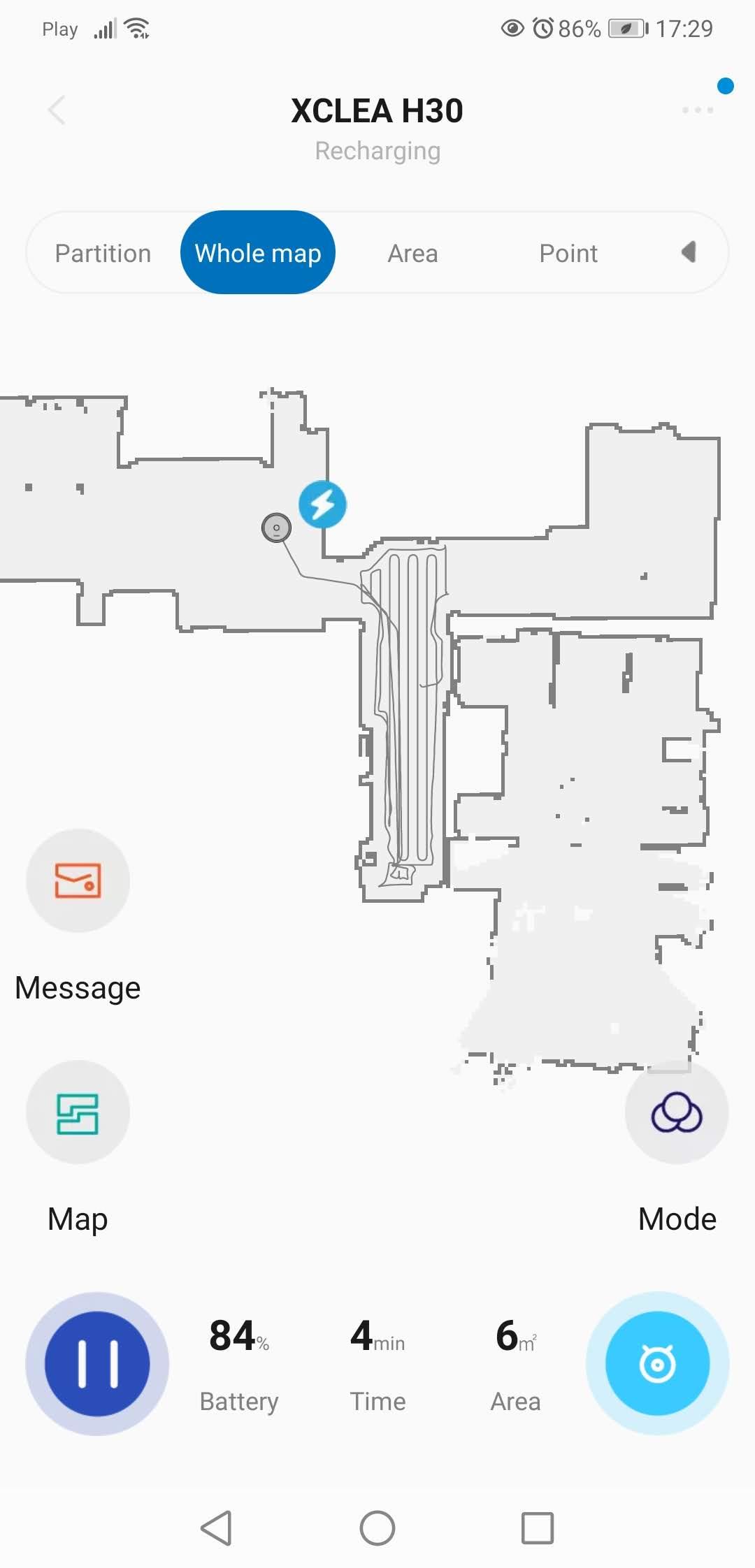 Aplikacja XClea posprzątana arena