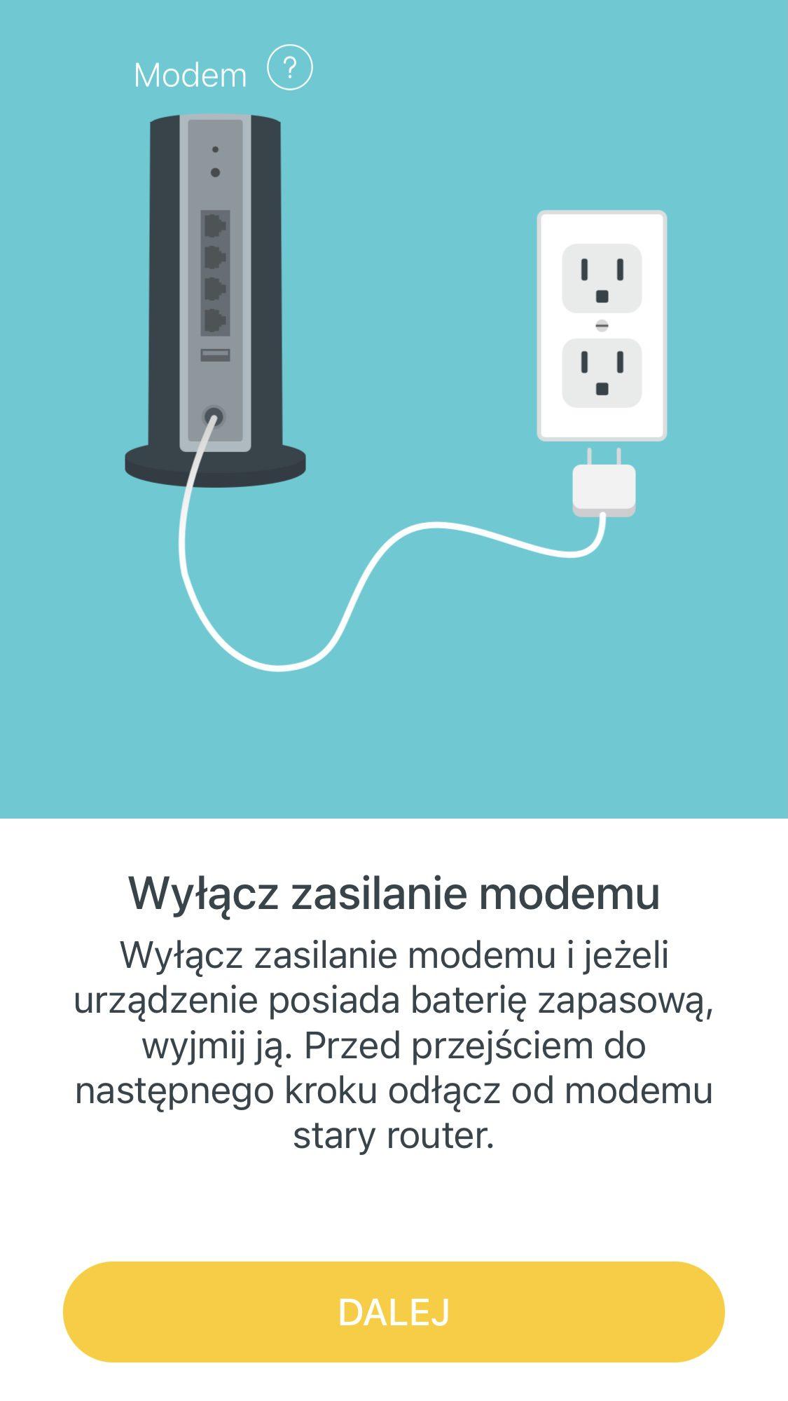 polaczenie z modemem