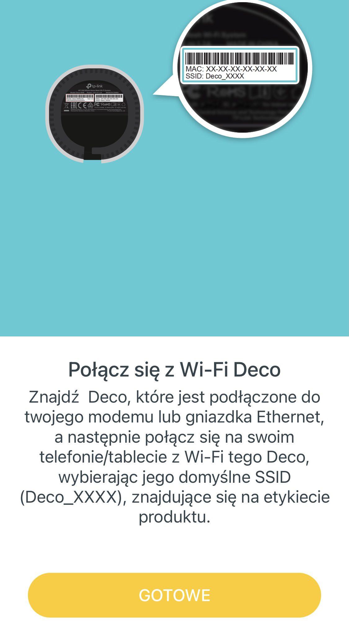 połączenie się z siecią wi-fi
