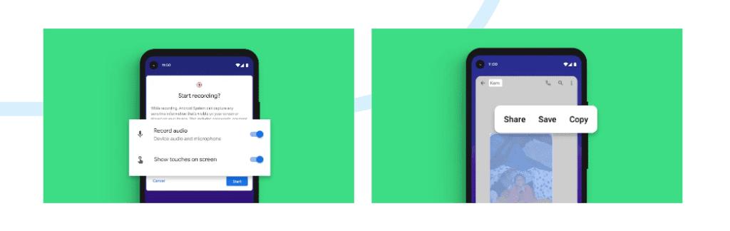 Android 11 zapisywanie ekranu