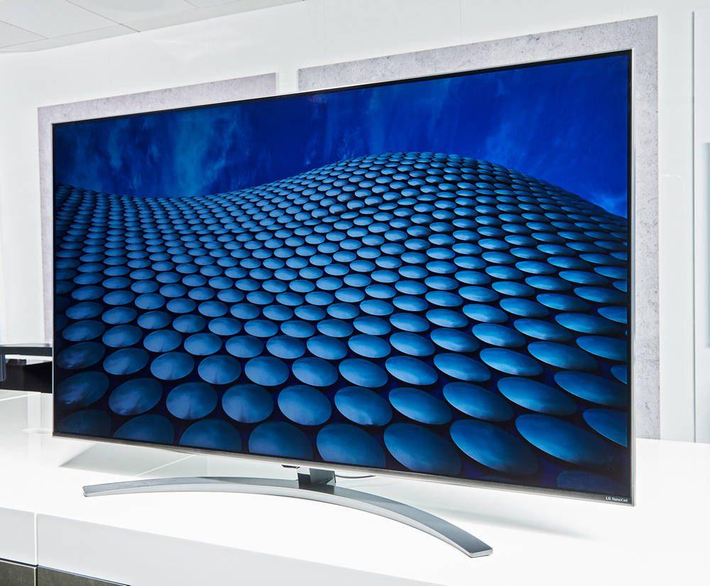 telewizor LG Nano81 wygląd