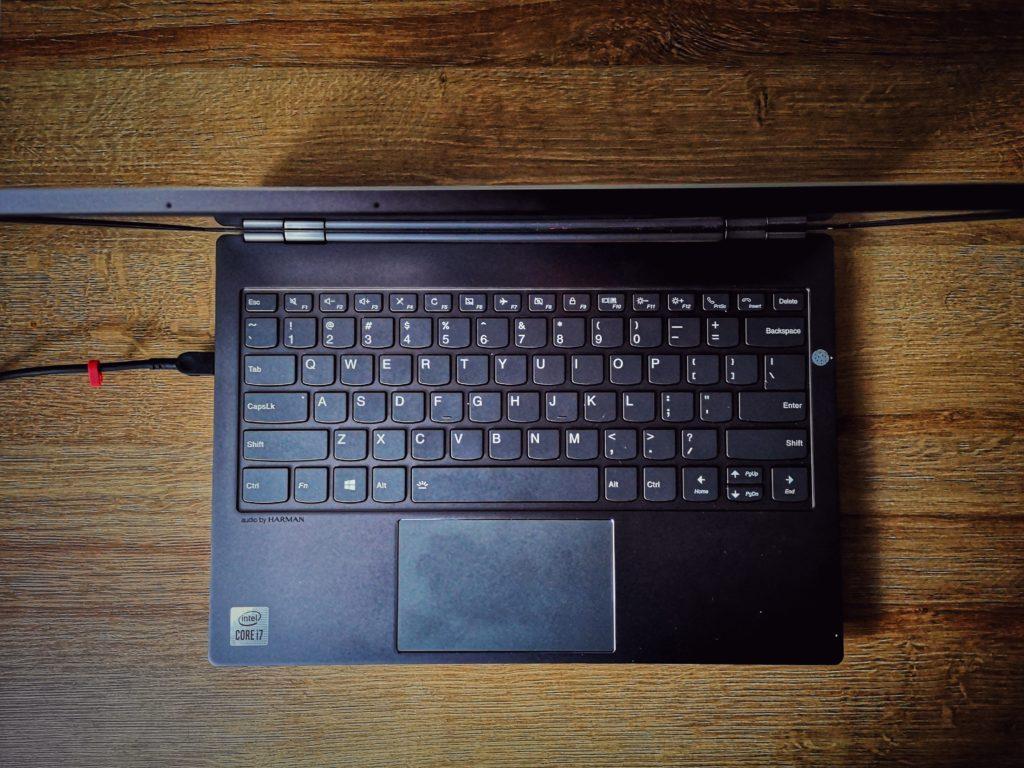 Lenovo ThinkBook Plus e-ink klawiatura