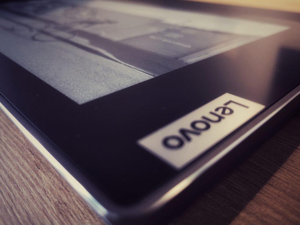 Lenovo ThinkBook Plus e-ink logo