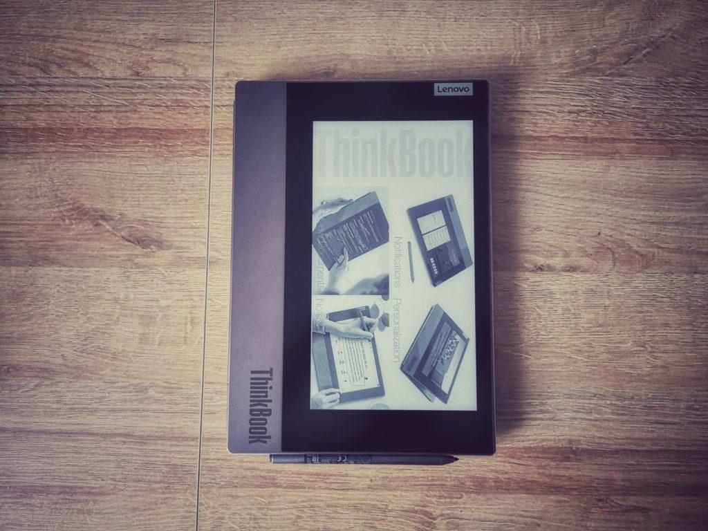 Lenovo ThinkBook Plus e-ink złożony