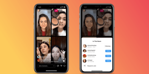 Instagram uruchamia Live Rooms – nową funkcję do prowadzenia wieloosobowych transmisji na żywo