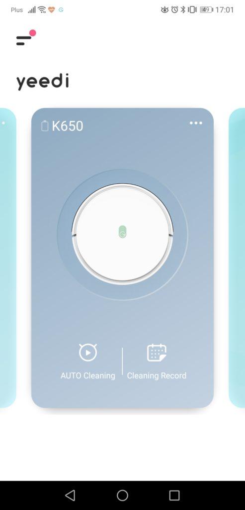 Aplikacja yeedi screenshot Yeedi K650