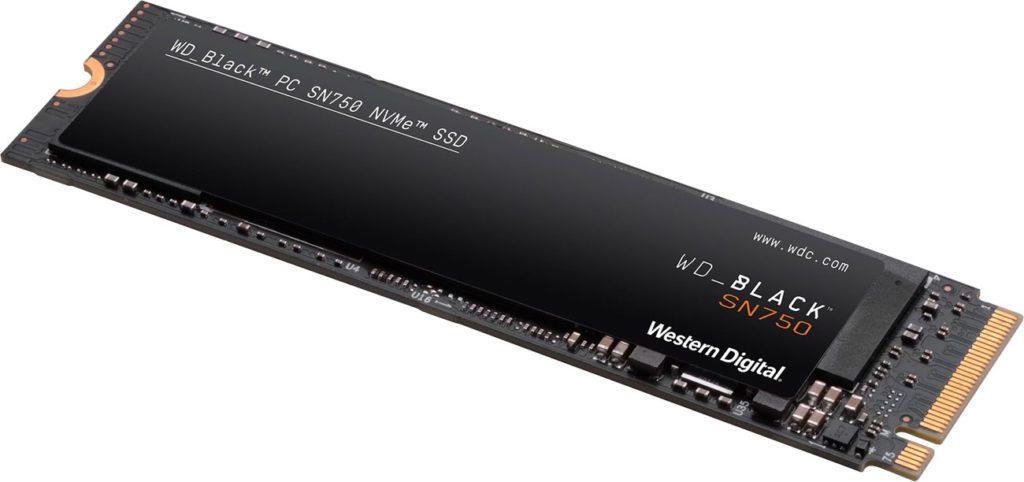 Dysk SSD WD Black 1 TB SN750 NVME