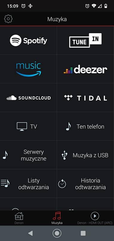 ekran zakładania konta w aplikacji heos