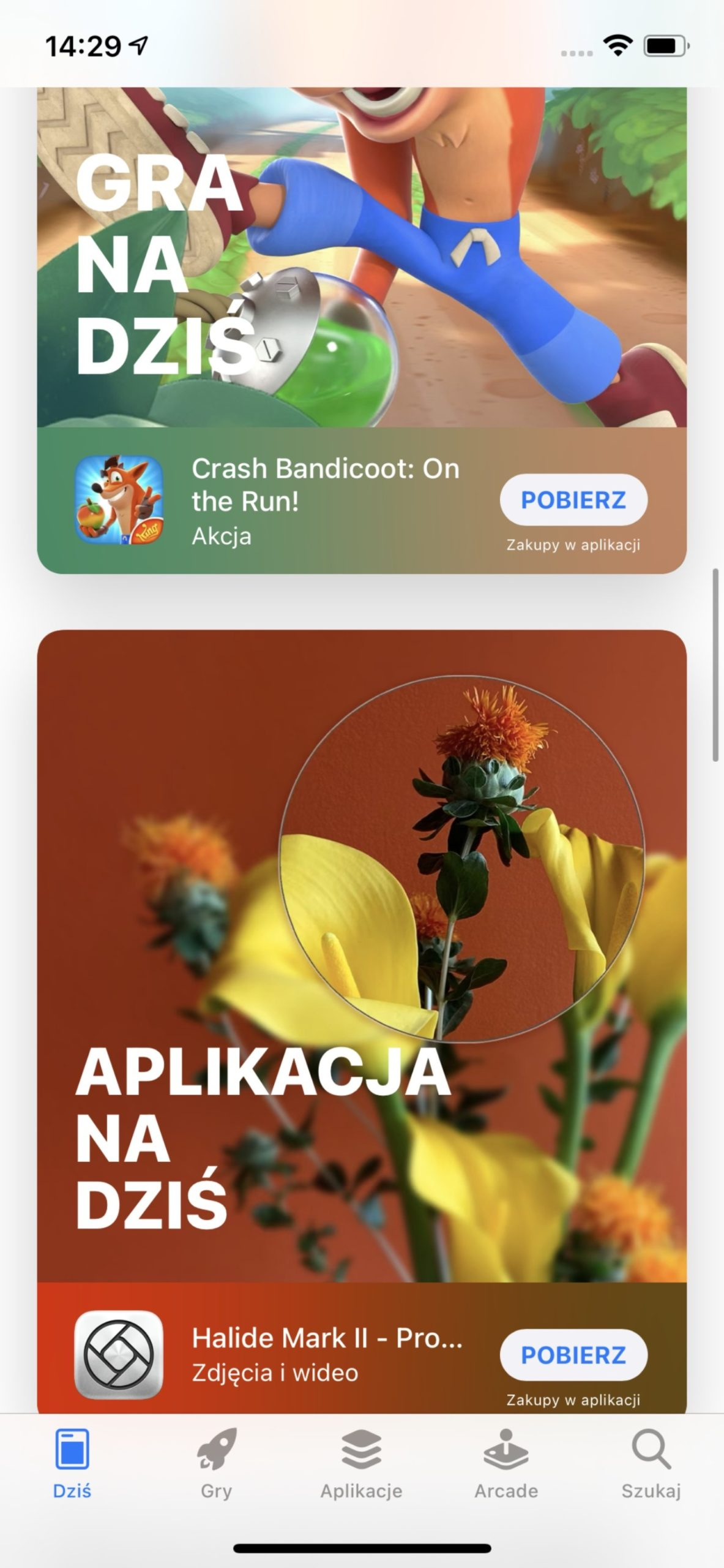 appstore aplikacje i gry na dziś ios