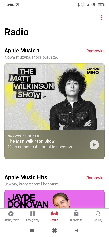 radio w apple music