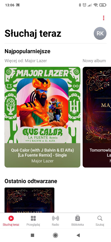 utwory w apple music