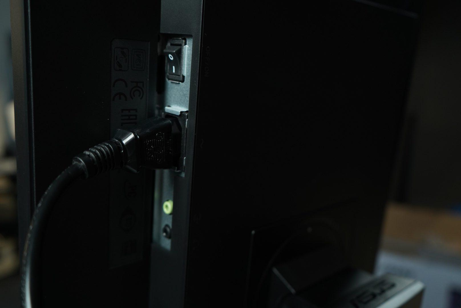 Monitor ASUS ProArt PA248QV złącza