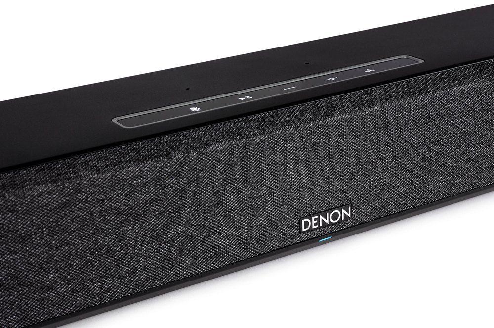 zbliżenie na panel strerowania denona home sound bar 550