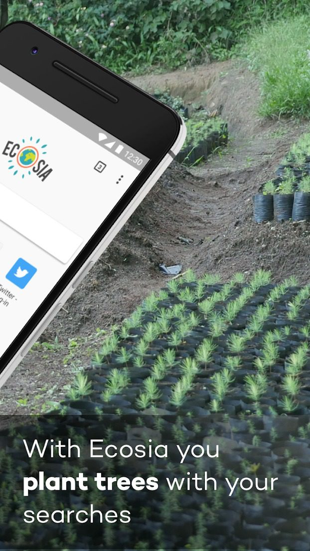 aplikacja ecosia