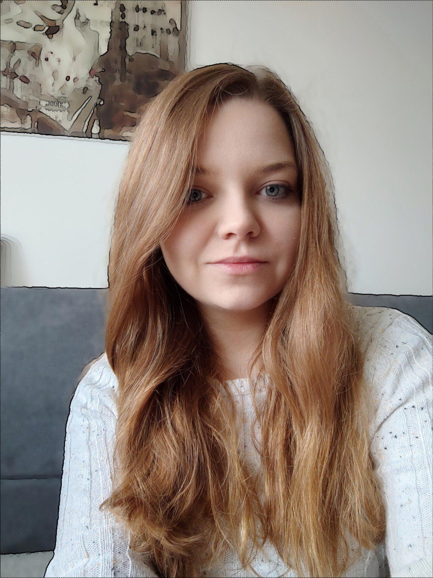 selfie mi 11 z opcją sztuka w tle