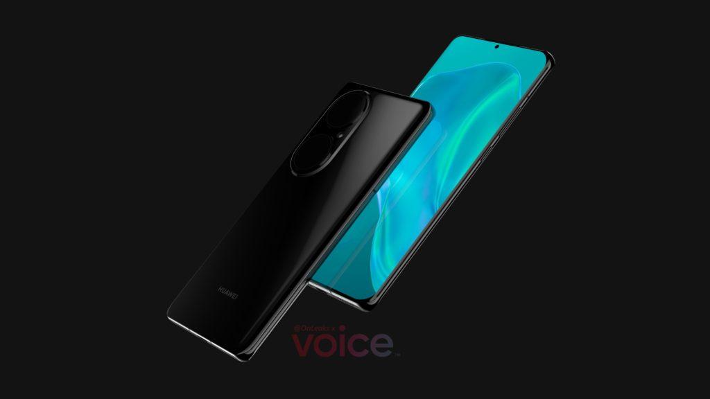 Huawei P50 Pro rendery