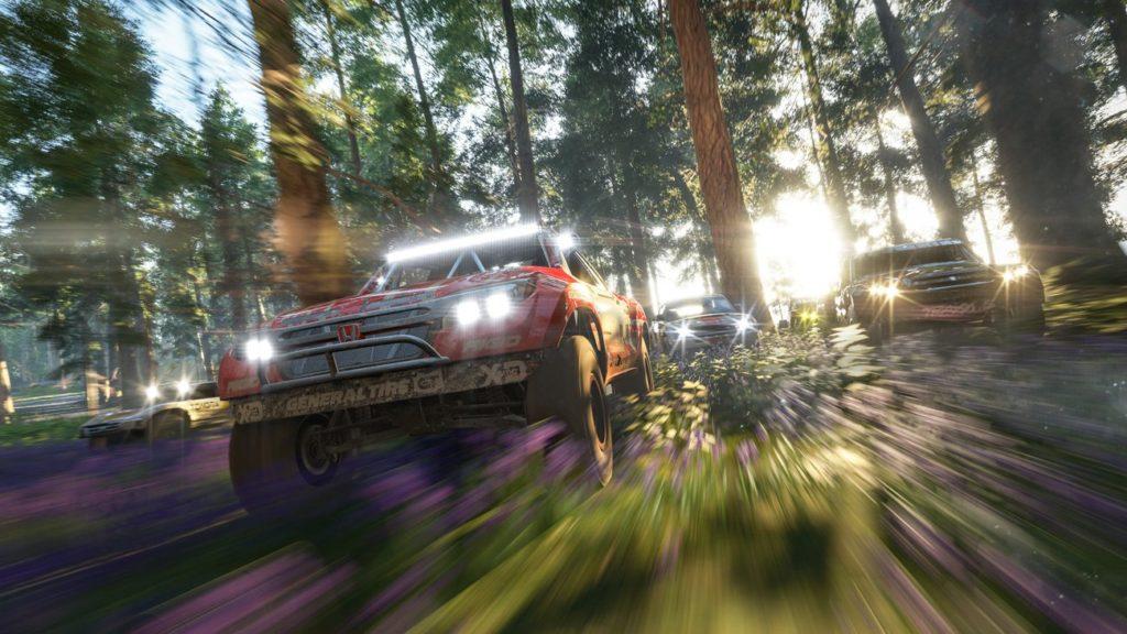 Forza Horizon 4 wyścig