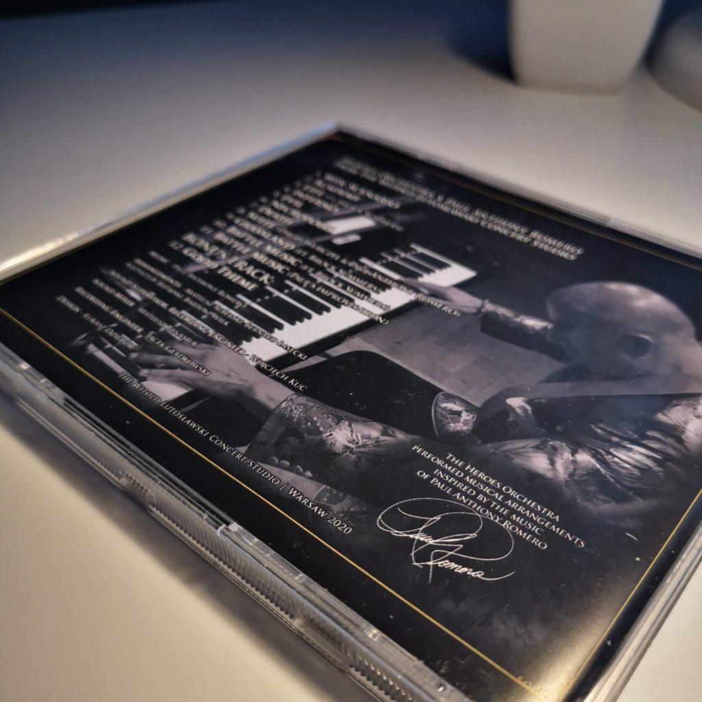 Heroes Orchestra okładka z autografem Romero