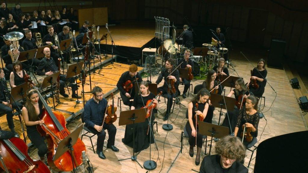 Heroes Orchestra koncert w studiu Witolda Lutosławskiego