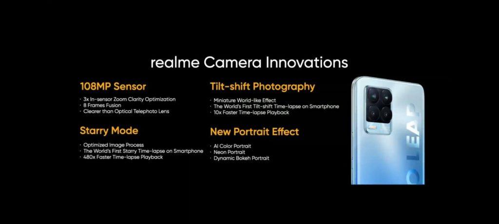 innowacje w aparatach smartfonów realme
