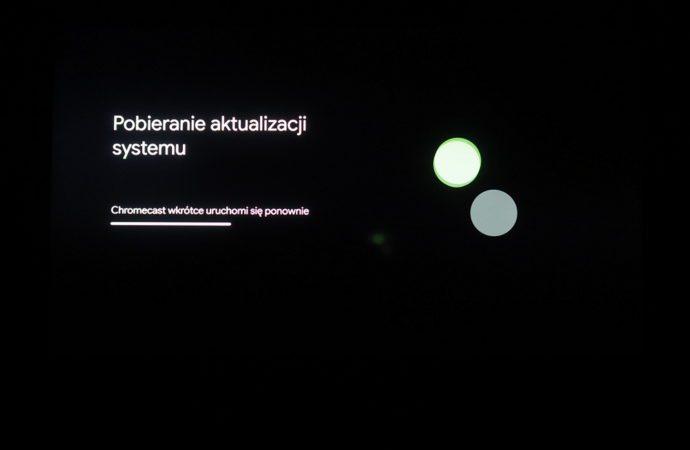 istalacja google chromecast
