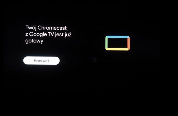 kroki instalacji google chromecast
