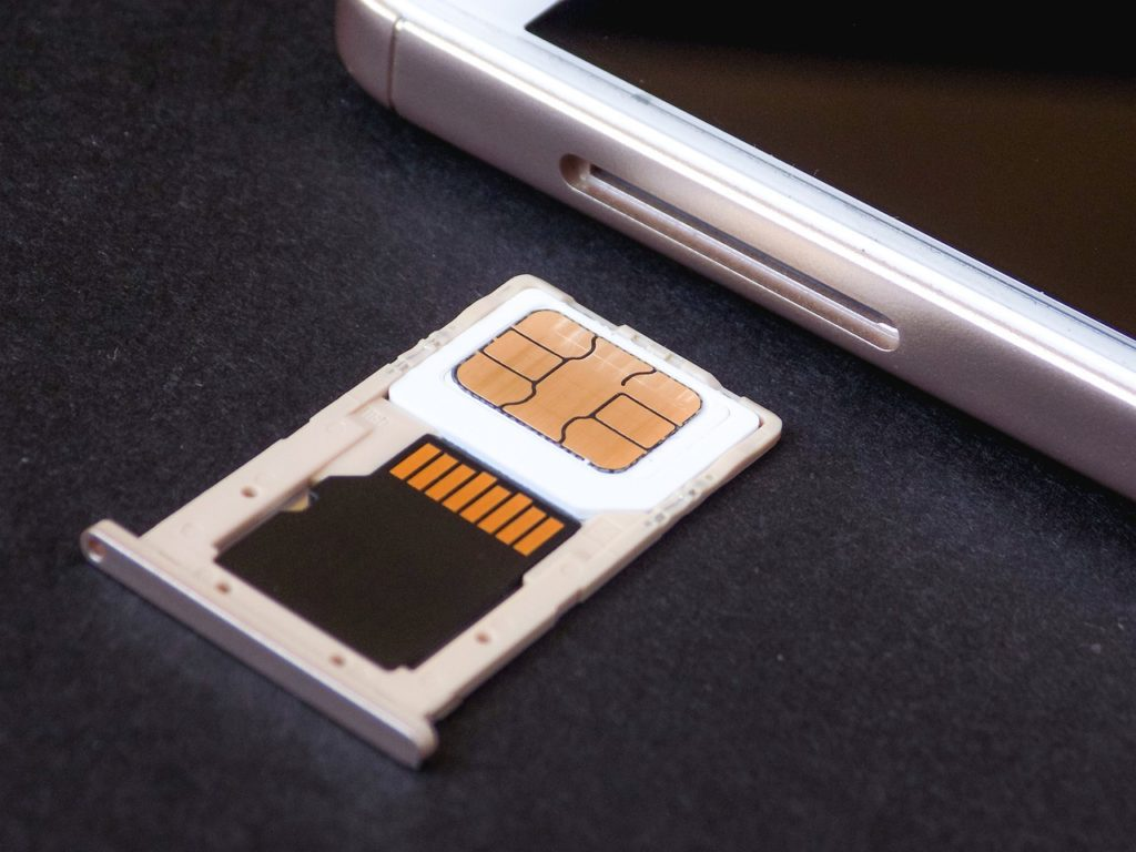 Tacka na kartę SIM