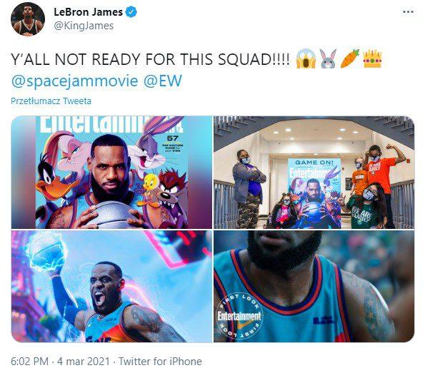 LeBron James na Twitterze