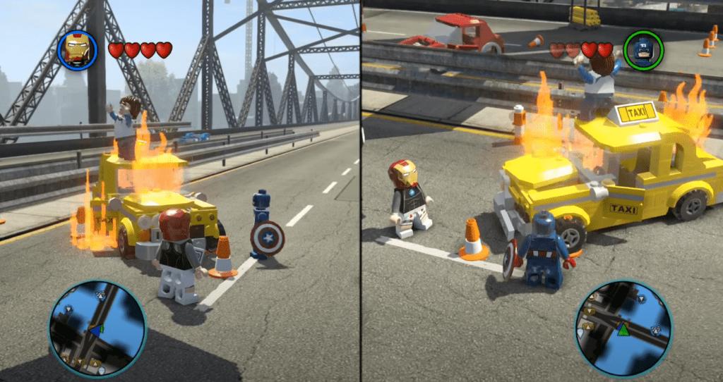 LEGO Marvel Super Heroes tryb kooperacji