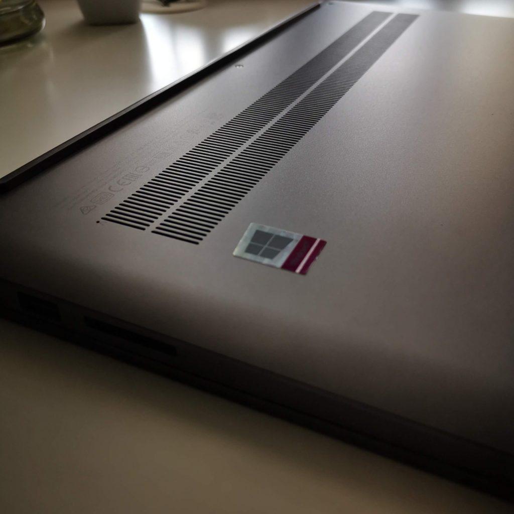 Lenovo Yoga Slim 7 wentylacja