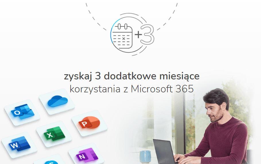 Microsoft 365 3 miesiące gratis