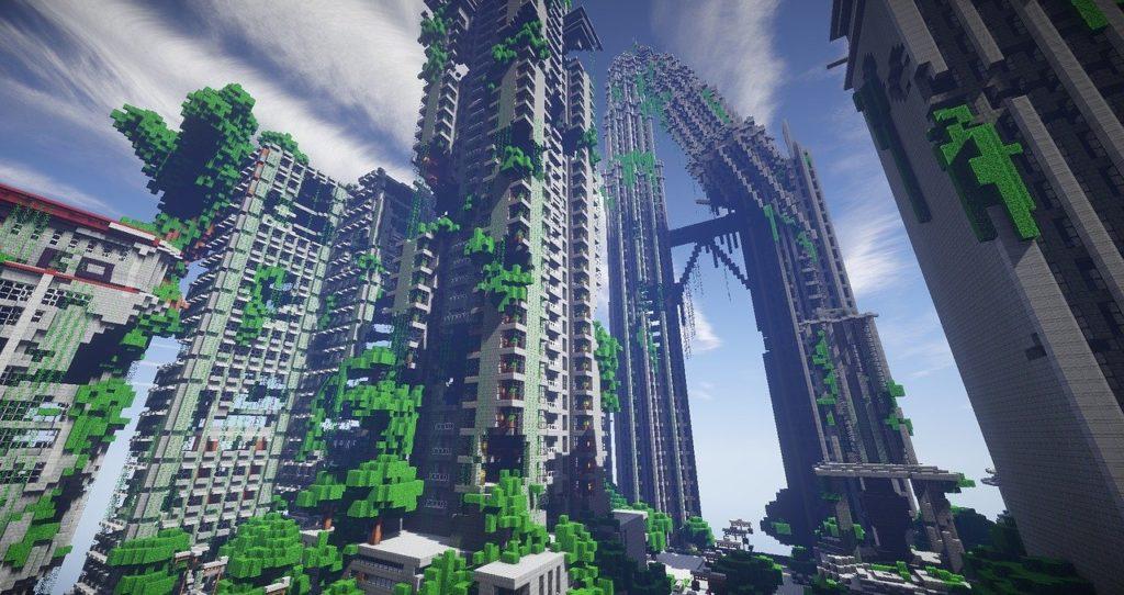 budynek w Minecraft