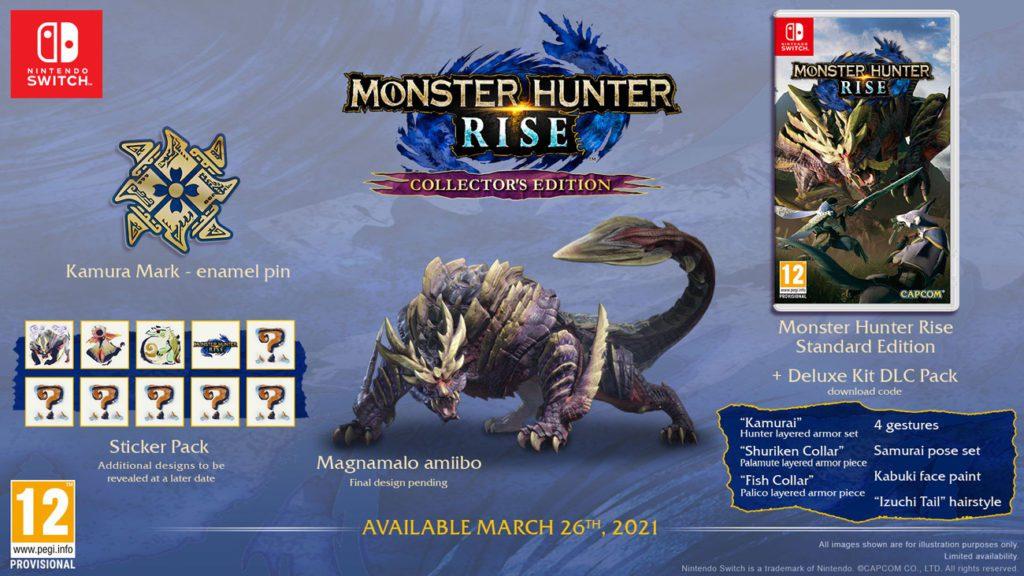 Monster Hunter Rise edycja kolekcjonerska x-kom