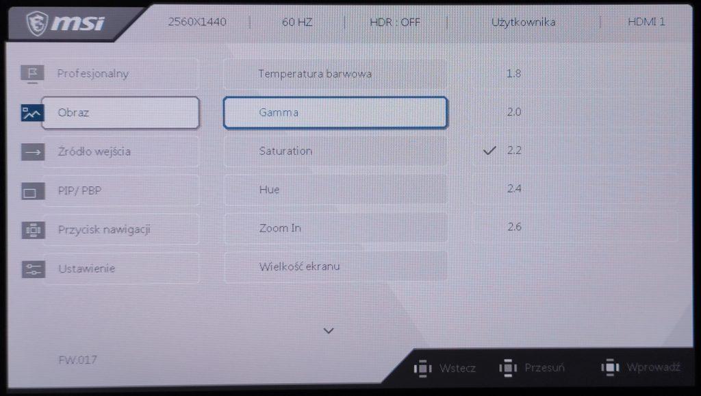 MSI Creator PS321QR obraz