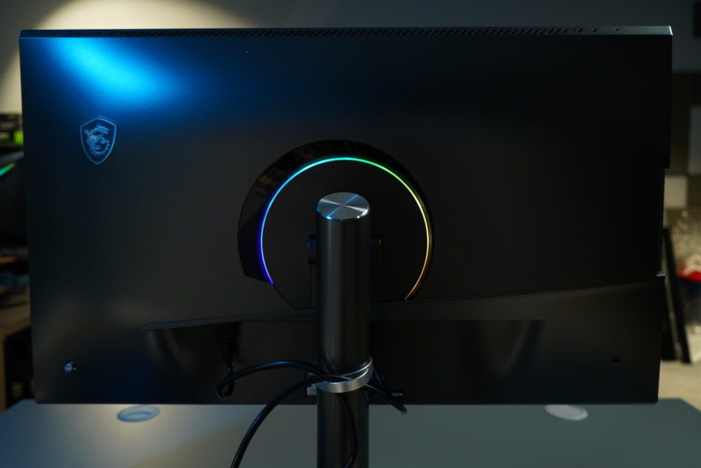 MSI Creator PS321QR tył monitora