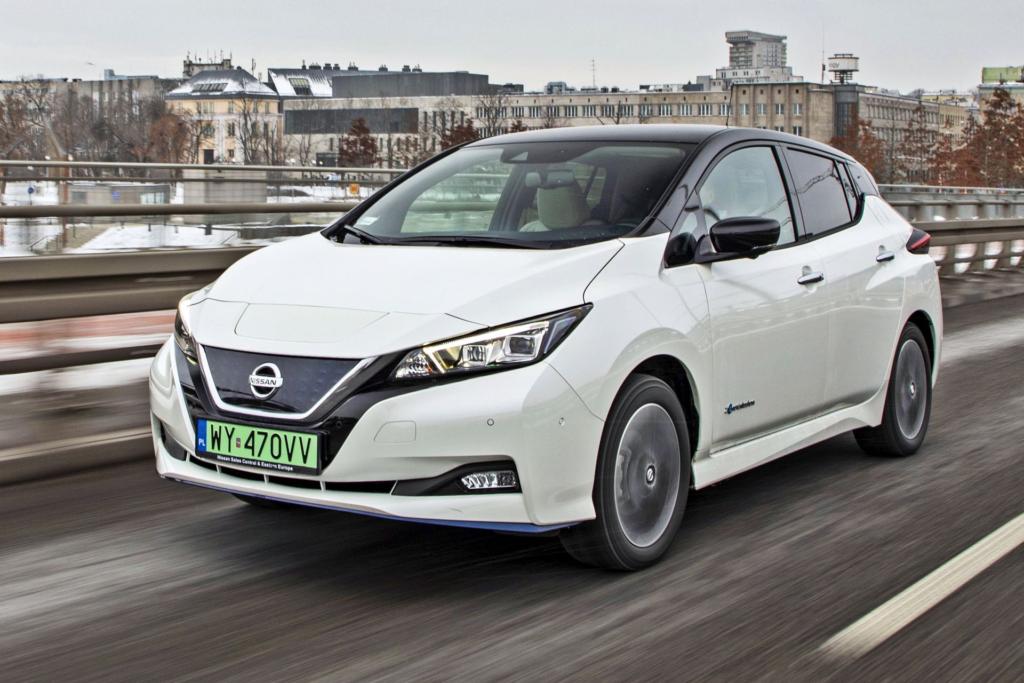 Nissan Leaf hitem sprzedaży w Polsce