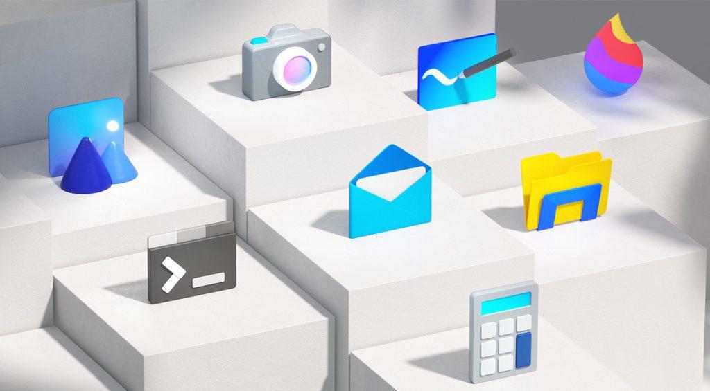 Nowe ikony Windows 10
