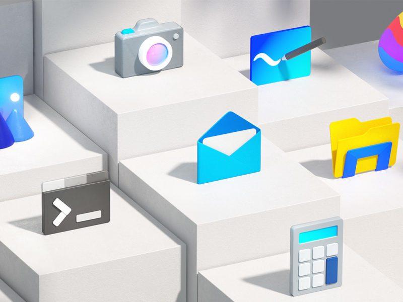 Nowy wygląd ikon w Windows 10 już niedługo