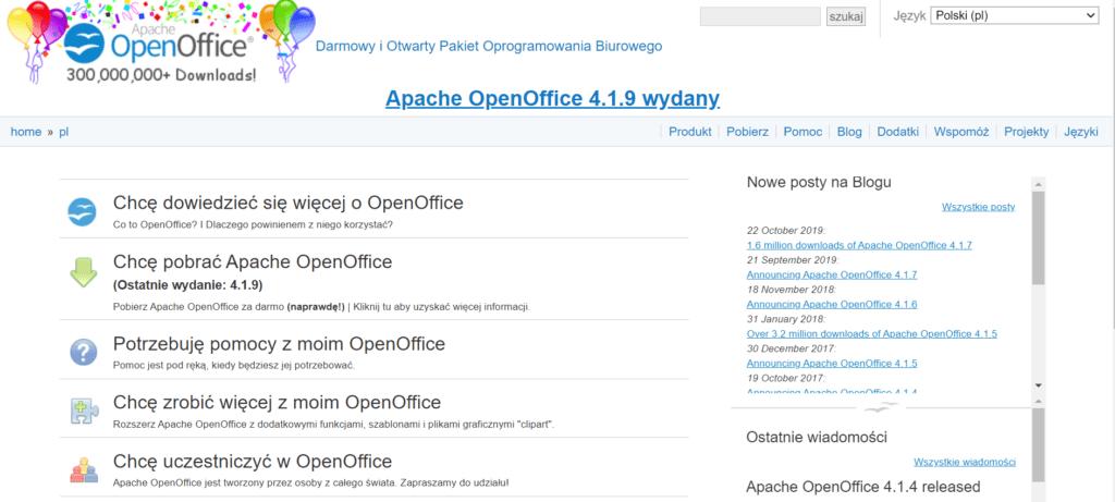 openoffice pl
