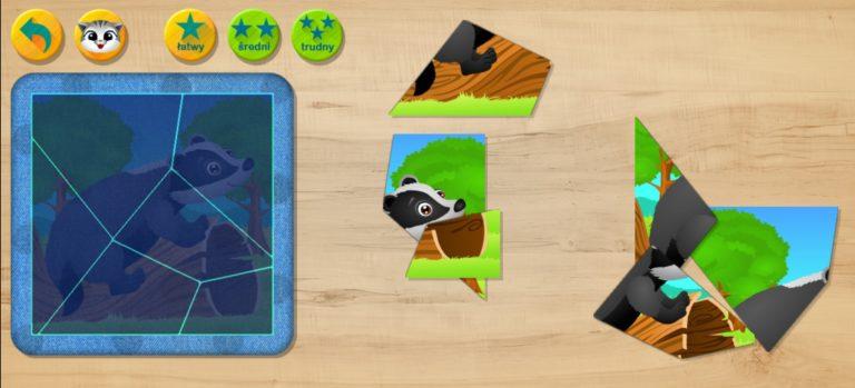 Puzzle dla Dzieci: Gra edukacyjna dla najmłodszych aplikacja